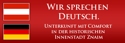 Unterkunft mit Comfort in der historischen Innenstadt Znaim